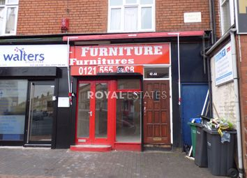 Thumbnail Retail premises to let in Waterloo Road, Smethwick