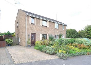 Thumbnail 3 bed semi-detached house for sale in Louthe Way, Sawtry, Huntingdon, Cambridgeshire