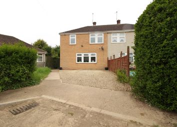 Thumbnail 3 bed semi-detached house for sale in Carlton Road, Sudbrook, Grantham