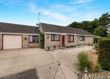 Thumbnail 4 bed detached bungalow for sale in Hunt Close, Starston, Harleston