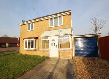 Thumbnail 4 bed detached house to rent in Tantallon Court, Longthorpe, Peterborough