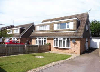 Thumbnail 3 bed semi-detached house for sale in Spinney Hill Road, Parklands, Northampton