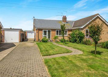 Thumbnail 2 bedroom semi-detached bungalow for sale in Jannys Close, Aylsham, Norwich