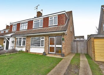 Thumbnail 3 bed semi-detached house to rent in 17 Fullers Close, Bearsted, Maidstone