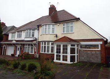 Thumbnail 3 bed semi-detached house for sale in Highway Road, Evington, Leicester, Leicestershire