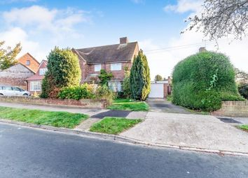 Thumbnail 3 bed semi-detached house for sale in Holly Road, Wainscott, Rochester, Kent