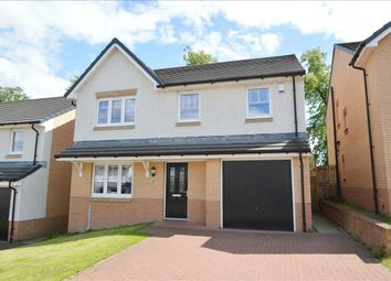 Thumbnail 4 bed detached house for sale in Milnwood Crescent, Broomhouse, Uddingston