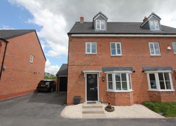 Thumbnail 4 bed semi-detached house for sale in The Green, Church Street, Burbage, Hinckley