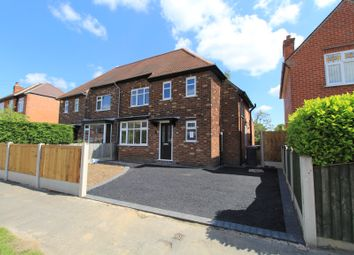 Thumbnail 3 bed semi-detached house for sale in Belmont Avenue, Breaston, Derbyshire