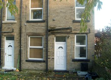 Thumbnail 2 bed end terrace house to rent in Bradford Road, Brighouse, West Yorkshire