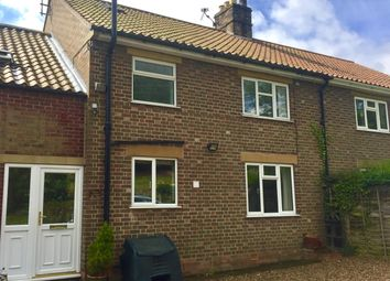 Thumbnail 3 bedroom terraced house to rent in Station Road, Ampleforth, York