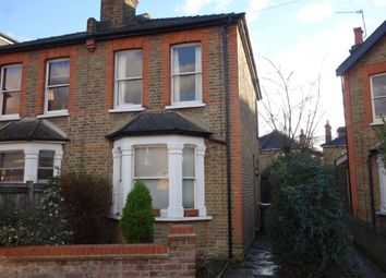 Thumbnail 2 bed semi-detached house to rent in Rowlls Road, Norbiton, Kingston Upon Thames