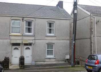 Thumbnail 3 bed semi-detached house for sale in Cwmamman Road, Garnant, Ammanford, Carmarthenshire.