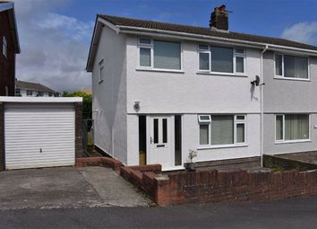 Thumbnail 3 bed semi-detached house for sale in Croftfield Cresent, Newton, Swansea