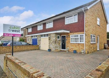 Thumbnail 4 bed semi-detached house for sale in Woodside, Gosport, Hampshire