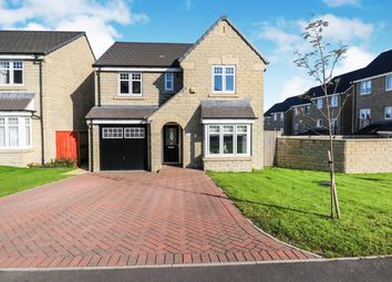 Thumbnail 4 bed detached house for sale in Black Myres Close, Queensbury, Bradford