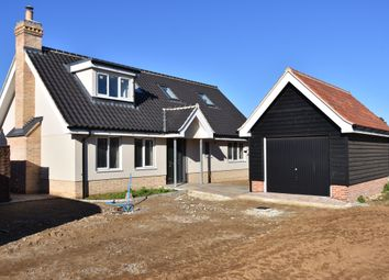 Thumbnail 3 bed detached house for sale in Dairy Close, Boyton Road, Hollesley, Woodbridge