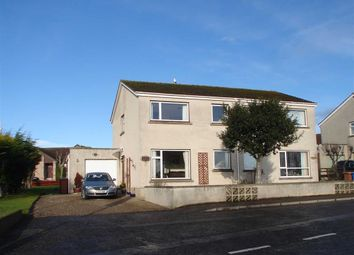 Thumbnail 3 bed semi-detached house for sale in Coulardbank Road, Lossiemouth