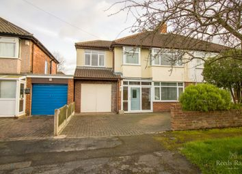 Thumbnail 4 bed semi-detached house for sale in Willow Grove, Whitby, Ellesmere Port