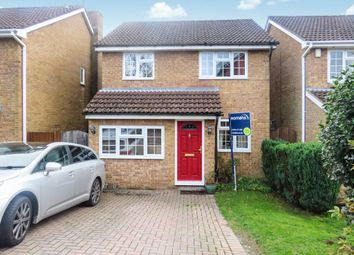Thumbnail 3 bed detached house for sale in Bramdown Heights, Basingstoke