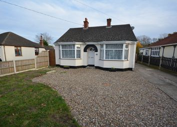 Thumbnail 3 bedroom detached bungalow for sale in Long Road, Carlton Colville, Lowestoft