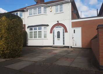 Thumbnail 3 bedroom semi-detached house for sale in Northumberland Avenue, Belgrave, Leicester