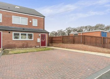 Thumbnail 3 bedroom terraced house for sale in Field View, Bearpark, Durham