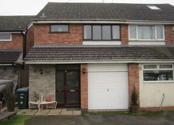 Thumbnail 3 bedroom semi-detached house for sale in Nova Croft, Eastern Green, Coventry