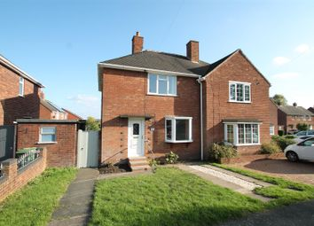 Thumbnail 2 bed semi-detached house to rent in Milton Road, Cannock