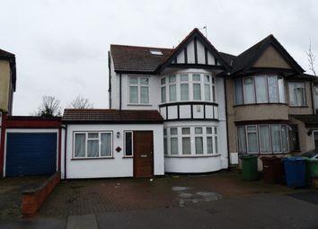 Thumbnail 6 bed semi-detached house to rent in Kenton Park Crescent, Kenton