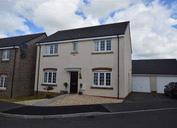 Thumbnail 4 bed detached house for sale in Lantern Close, Llanharan, Pontyclun