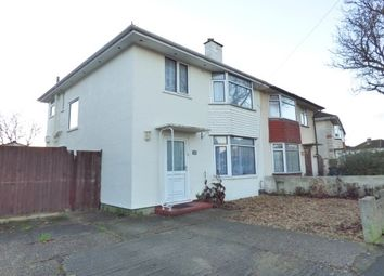 Thumbnail 3 bed semi-detached house to rent in Beauchamp Avenue, Gosport