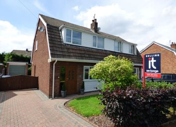 Thumbnail 3 bed semi-detached house for sale in Highfield Road, Hazel Grove, Stockport