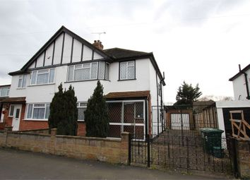 Thumbnail 3 bed semi-detached house for sale in Ferndale Road, Ashford, Surrey