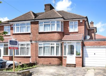 Thumbnail 3 bedroom semi-detached house for sale in Weston Drive, Stanmore, Middlesex