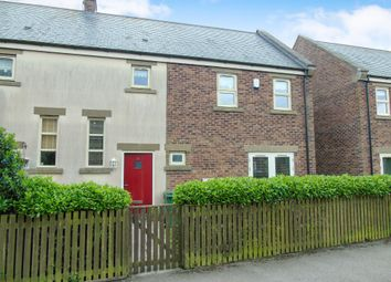 Thumbnail 3 bed semi-detached house for sale in Essyn Court, Easington Village, Peterlee