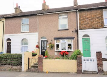 Thumbnail 3 bedroom terraced house for sale in Dover Road, Gravesend
