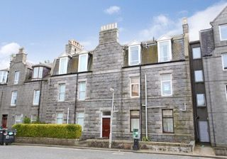 Thumbnail 1 bedroom flat to rent in Claremont Street, City Centre, Aberdeen
