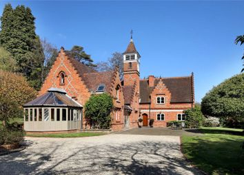 Thumbnail 5 bedroom detached house for sale in Chertsey Road, Windlesham, Surrey