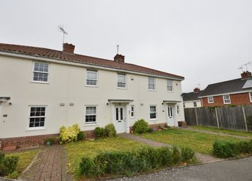 Thumbnail 3 bedroom terraced house to rent in Cullcott Close, Yoxford, Saxmundham