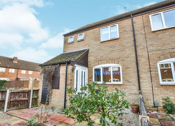 Thumbnail 2 bed end terrace house for sale in Oak Close, New Costessey, Norwich