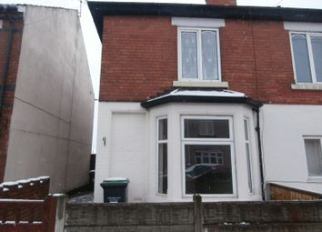 Thumbnail 3 bed semi-detached house to rent in Park Street, Kirkby-In-Ashfield, Nottingham
