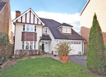 Thumbnail 4 bed detached house for sale in Coleridge Drive, Whiteley, Fareham
