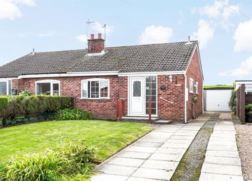 Thumbnail 2 bed bungalow for sale in Moorfield Way, Wilberfoss, York
