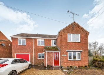 Thumbnail 4 bed detached house for sale in Lime Kiln Road, West Dereham, King's Lynn