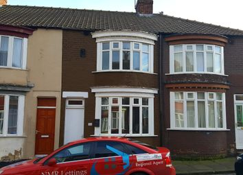Thumbnail 3 bedroom terraced house to rent in Norcliffe Street, North Ormesby, Middlesbrough