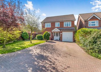 Thumbnail 4 bed detached house for sale in Stroykins Close, Grimsby