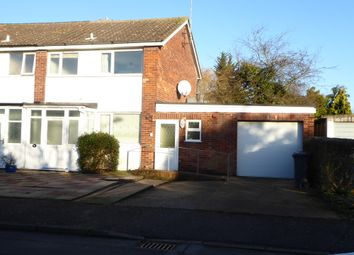 Thumbnail 3 bedroom semi-detached house for sale in Andrew Close, Leiston, Suffolk