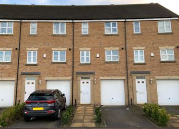 Thumbnail 3 bed town house for sale in Hargate Way, Hampton Hargate, Peterborough