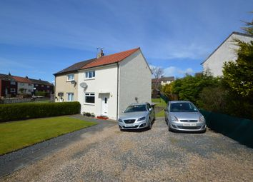 Thumbnail 2 bed semi-detached house for sale in Boyd Orr Road, Saltcoats, North Ayrshire